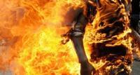 عاجل/ شاب يضرم النار في جسده احتجاجا على وضعيته الاجتماعي